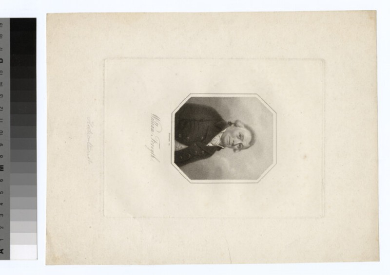 Portrait of W. Forsyth