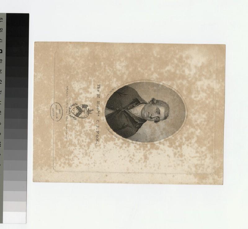 Portrait of C. J. Fox (WAHP27127)