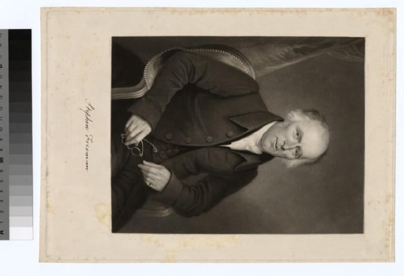 Portrait of S. Freeman