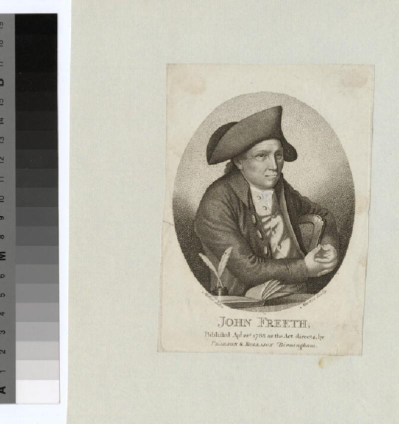 Portrait of J. Freeth (WAHP27191)