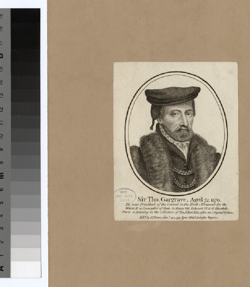 Portrait of M. Garland (WAHP27198)