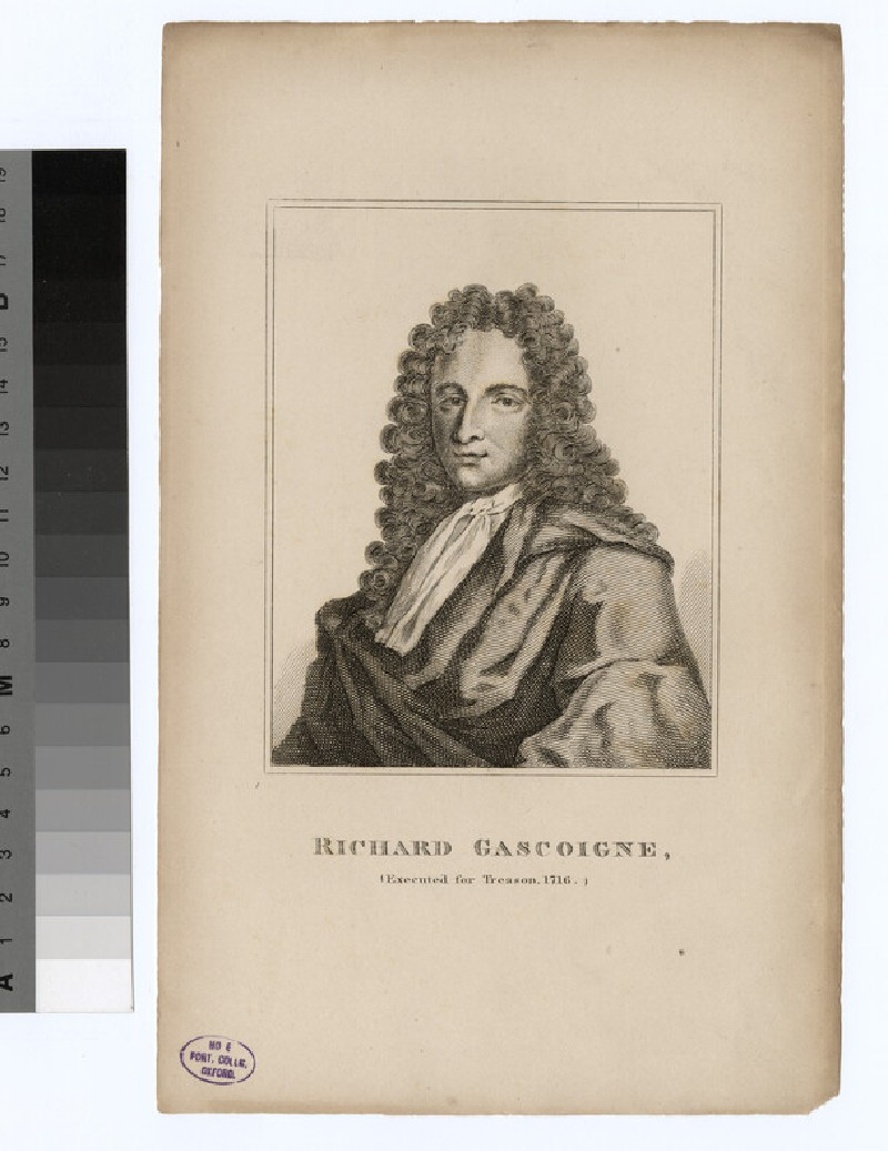 Portrait of R. Gascoigne