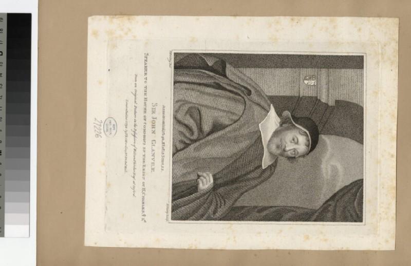 Portrait of J. Glanvile
