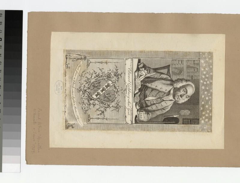 Portrait of E. Goldney (WAHP27243)