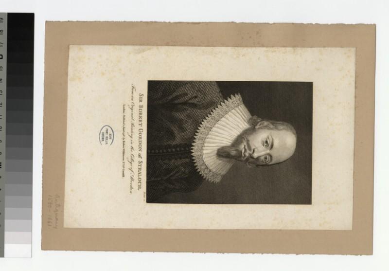 Portrait of R. Straloch