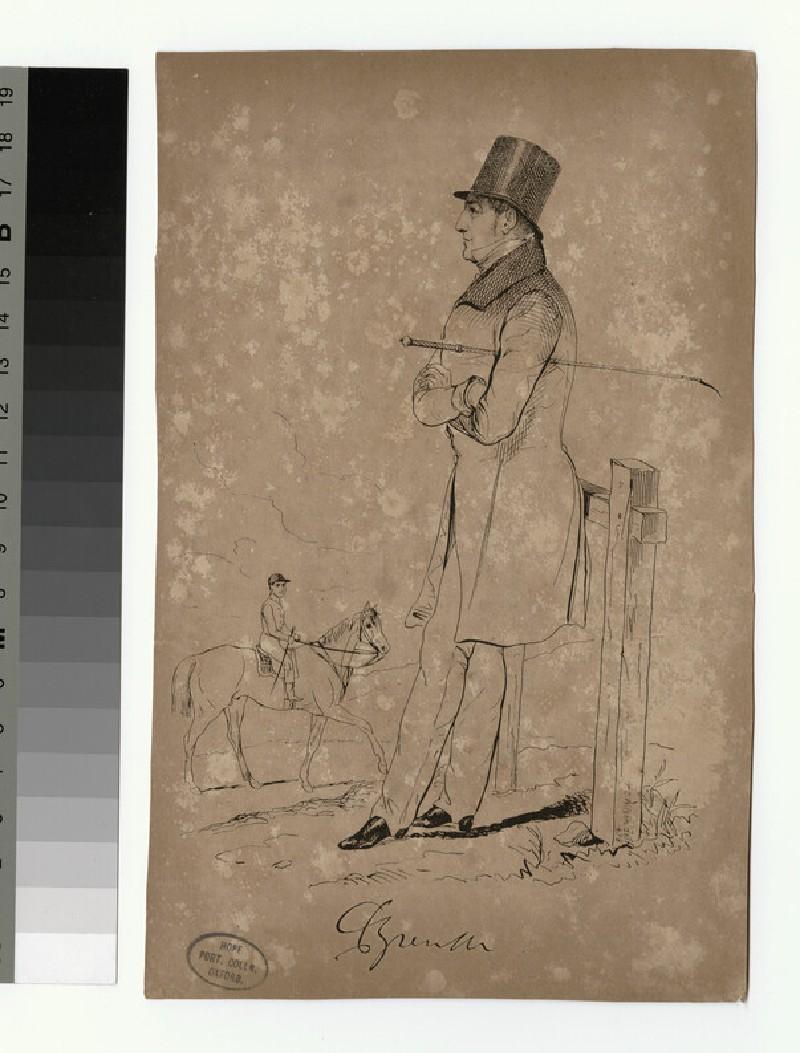 Portrait of Charles Cavendish Fulke Greville