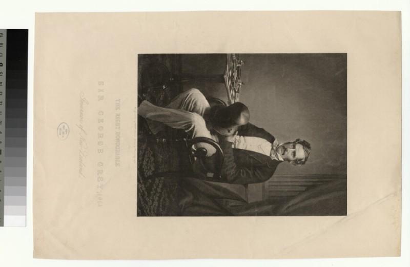 Portrait of Sir George Grey