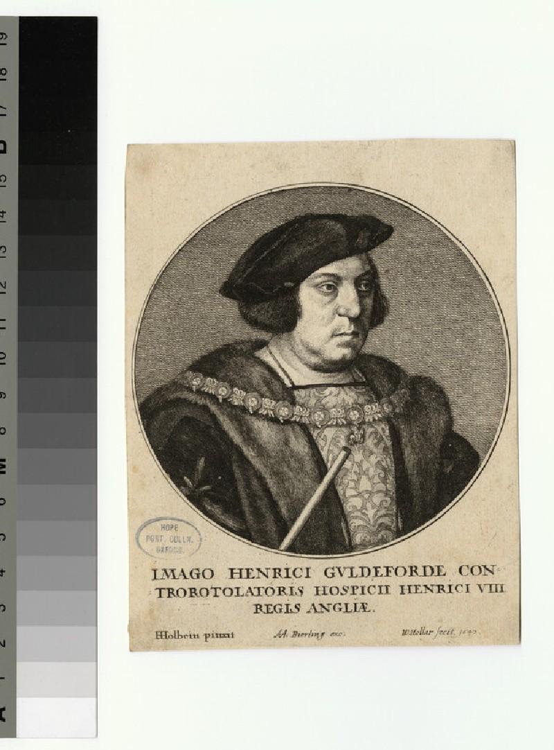 Portrait of H. Guldeforde
