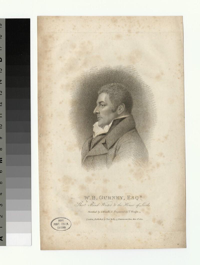 Portrait of W. B. Gurney (WAHP27338)