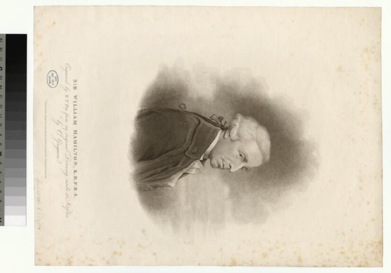 Portrait of W. Hamilton