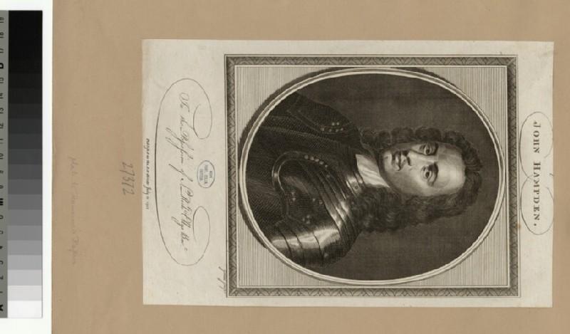 Portrait of J. Hampden (WAHP27372)
