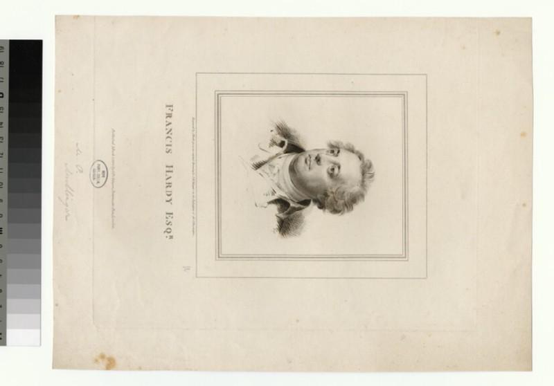 Portrait of F. Hardy