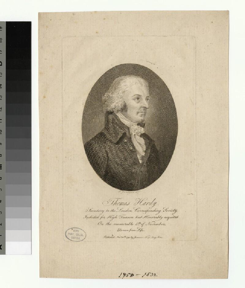 Portrait of Thomas Hardy