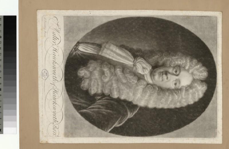 Portrait of W. Hawksworth