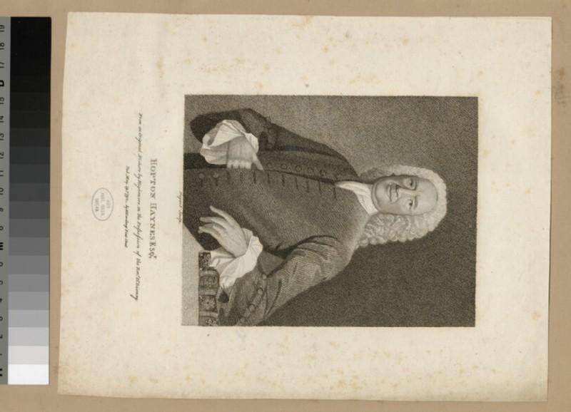 Portrait of H. Haynes