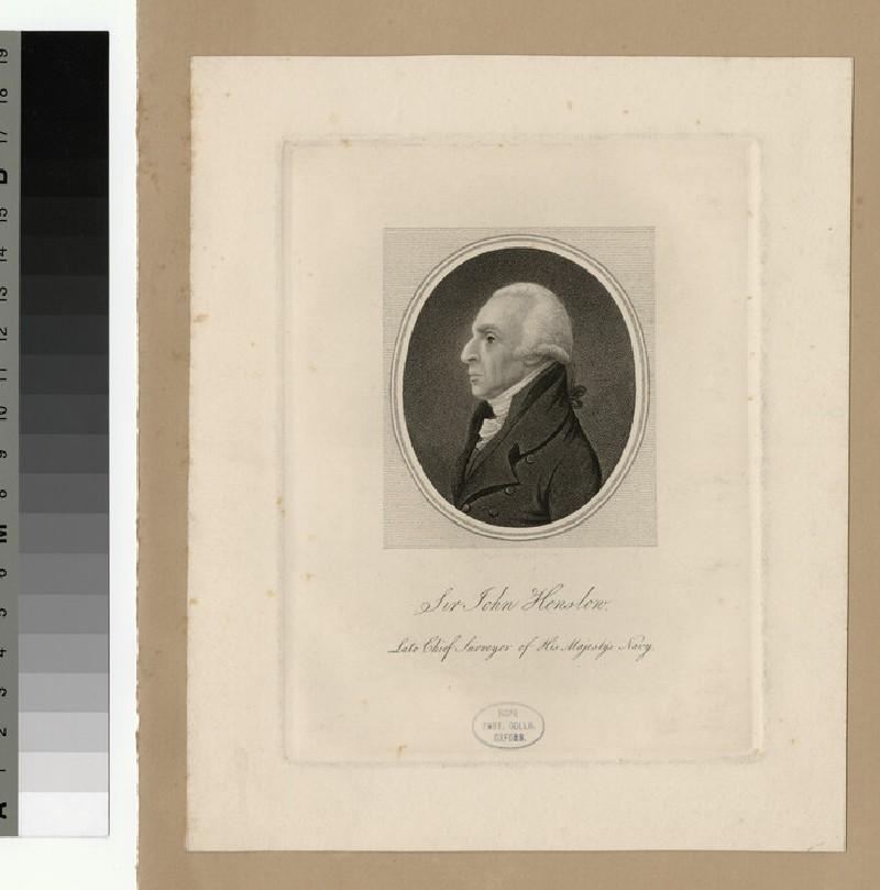Portrait of J. Henslow