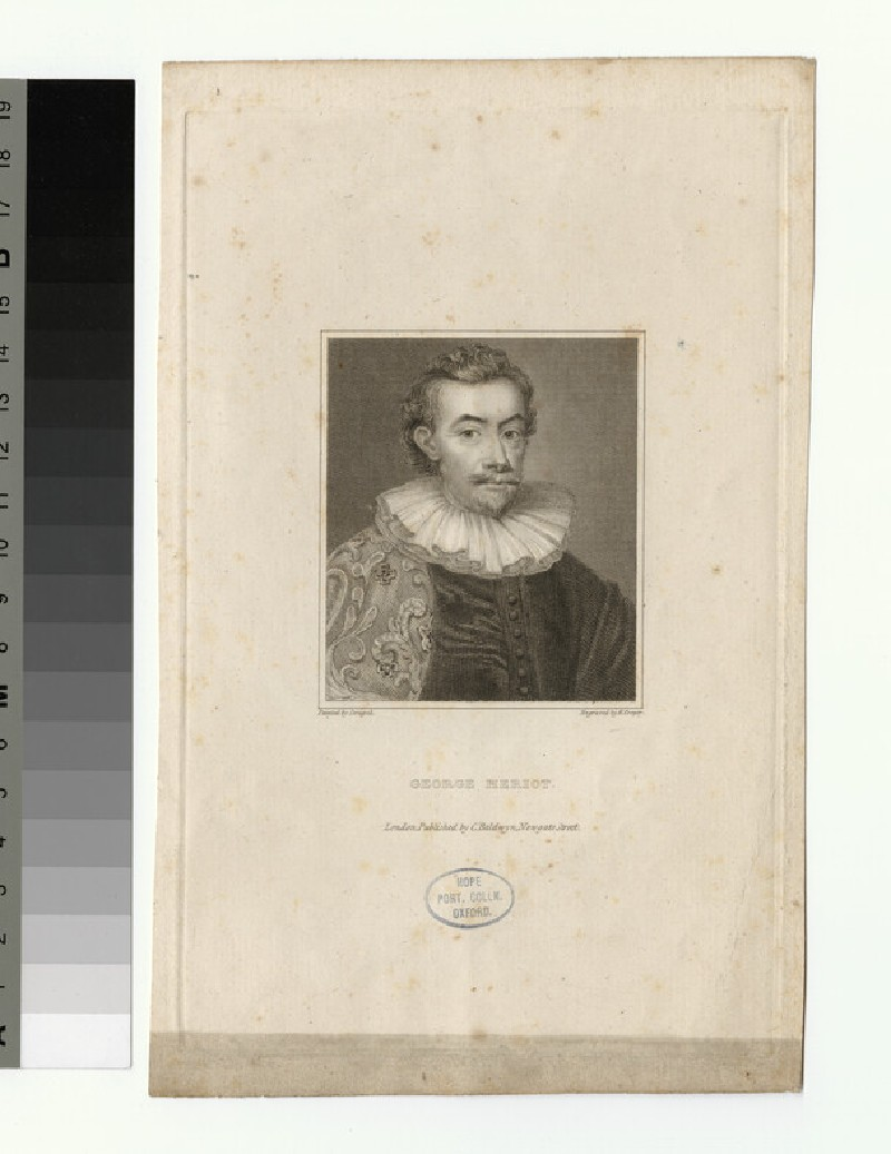 Portrait of G. Heriot (WAHP27470)