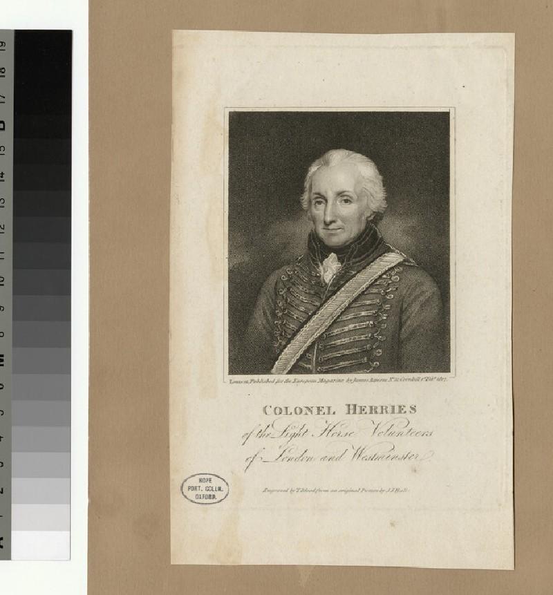 Portrait of Col Herries