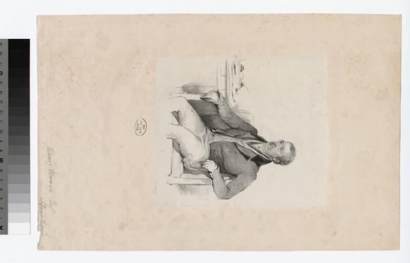 Portrait of H. Hoare