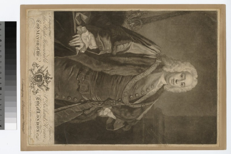 Portrait of Richard Hoare (WAHP27500)