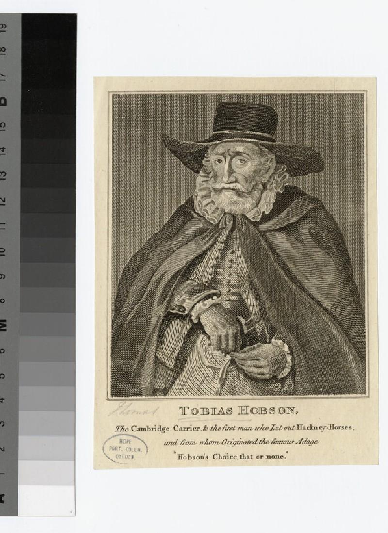Portrait of Thomas Hobson