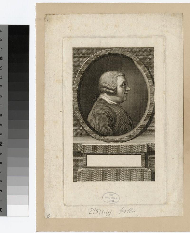 Portrait of Thomas Hollis