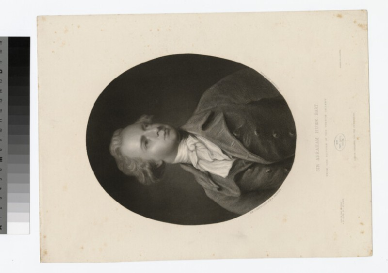 Portrait of A. Hume