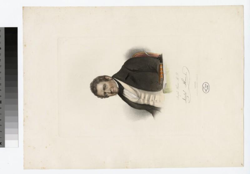 Portrait of Jos Hume