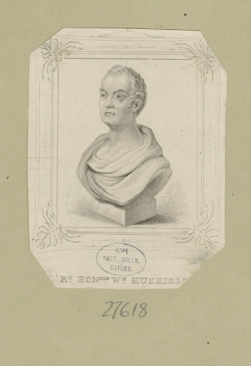 Portrait of W. Huskisson