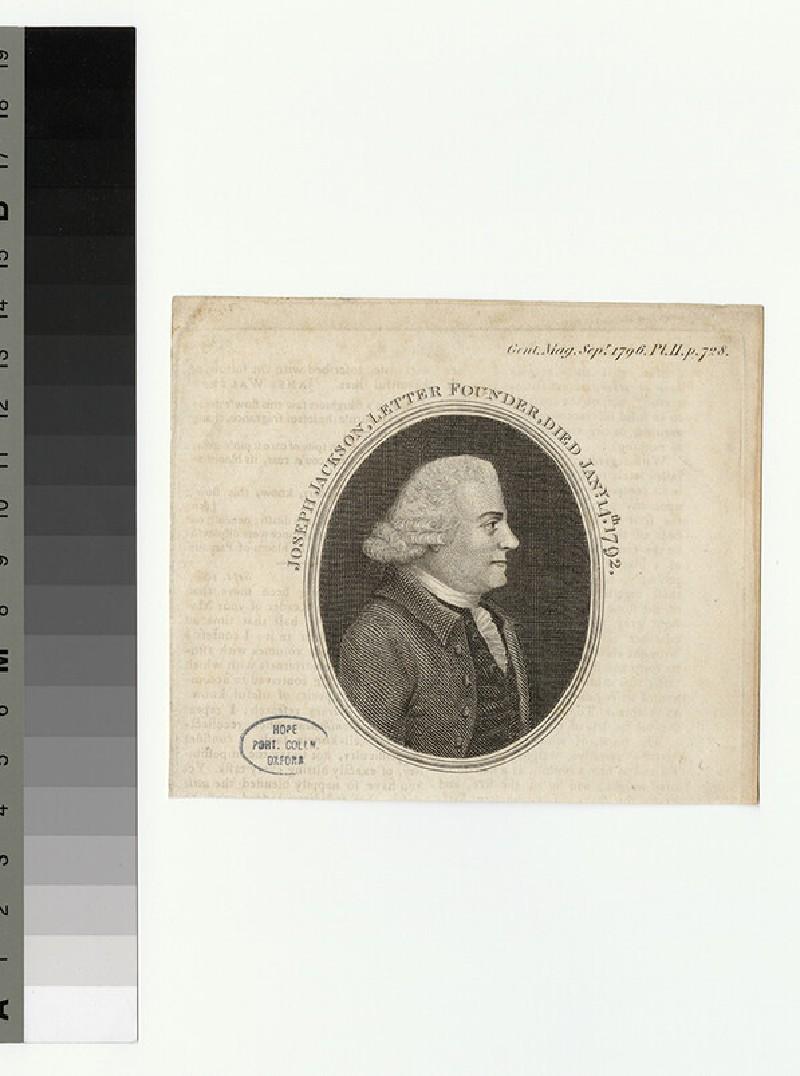 Portrait of J. Jackson (WAHP27636)