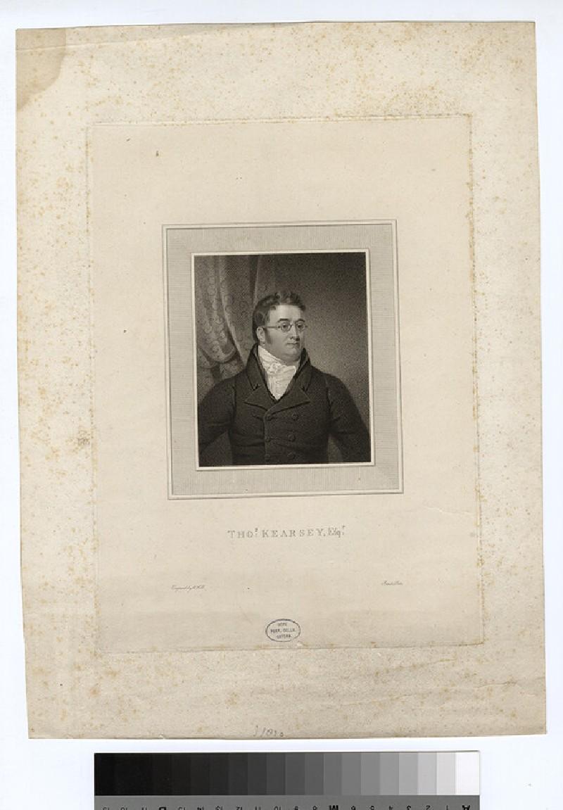 Portrait of T. Kearsey