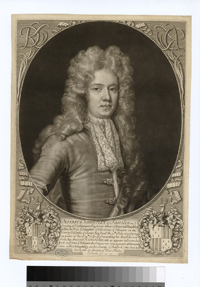 Portrait of D. Knightley (WAHP27703)