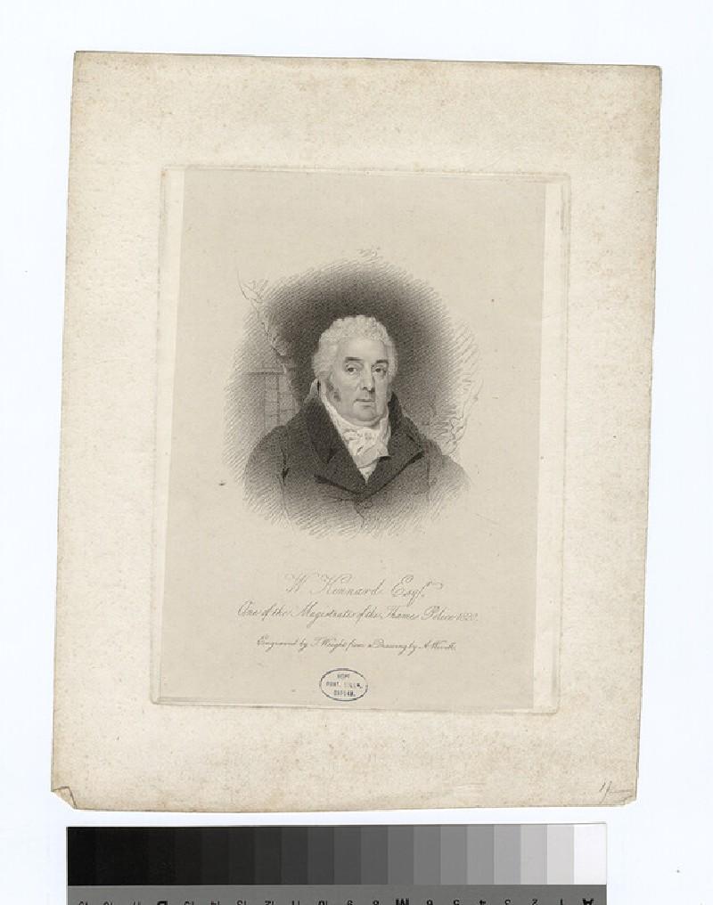 Portrait of W. Kinnard