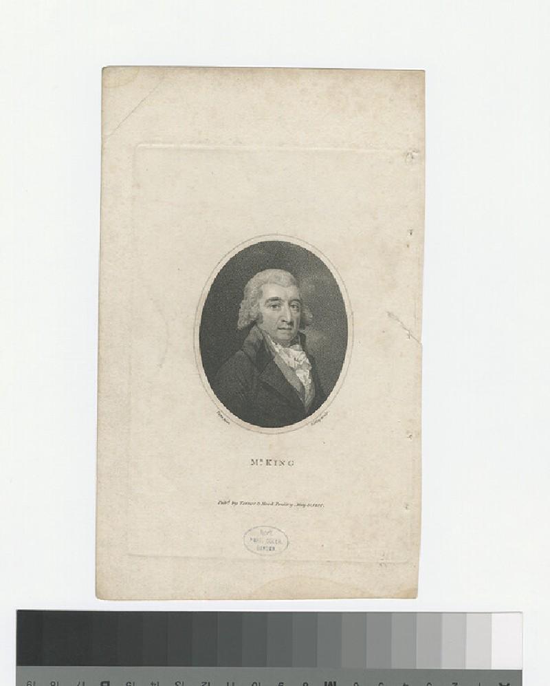 Portrait of W. King (WAHP27717)