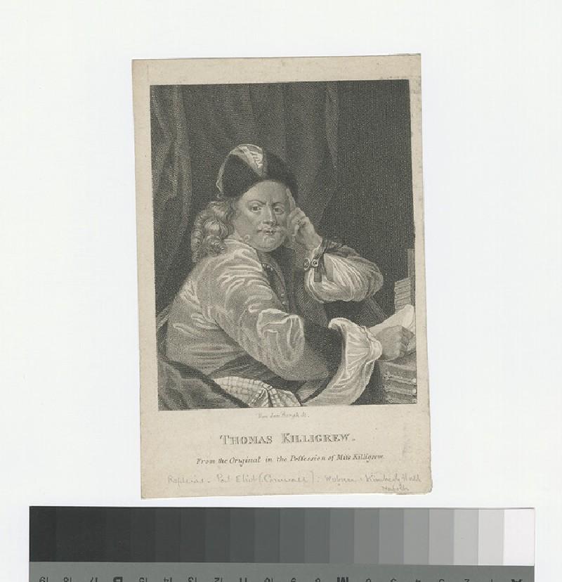 Portrait of T. Killigrew