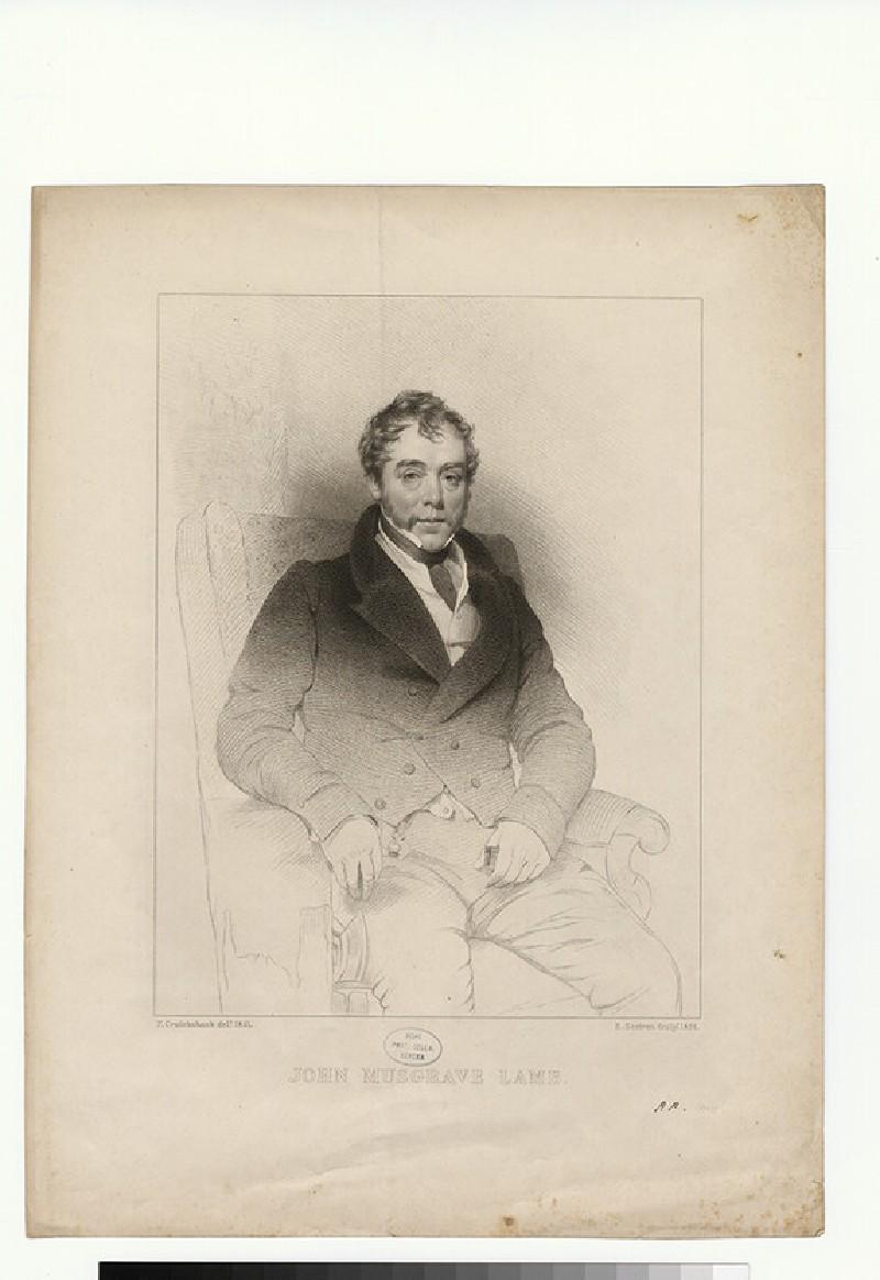 Portrait of J. M. Lamb