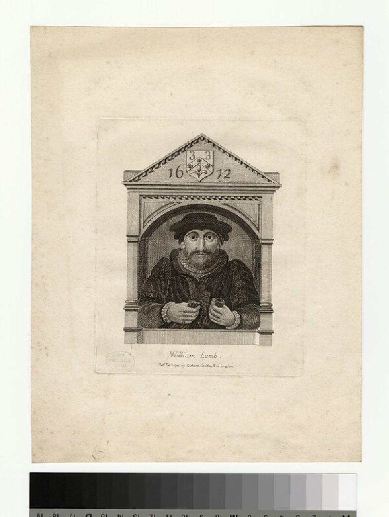 Portrait of W. Lamb (WAHP27730)