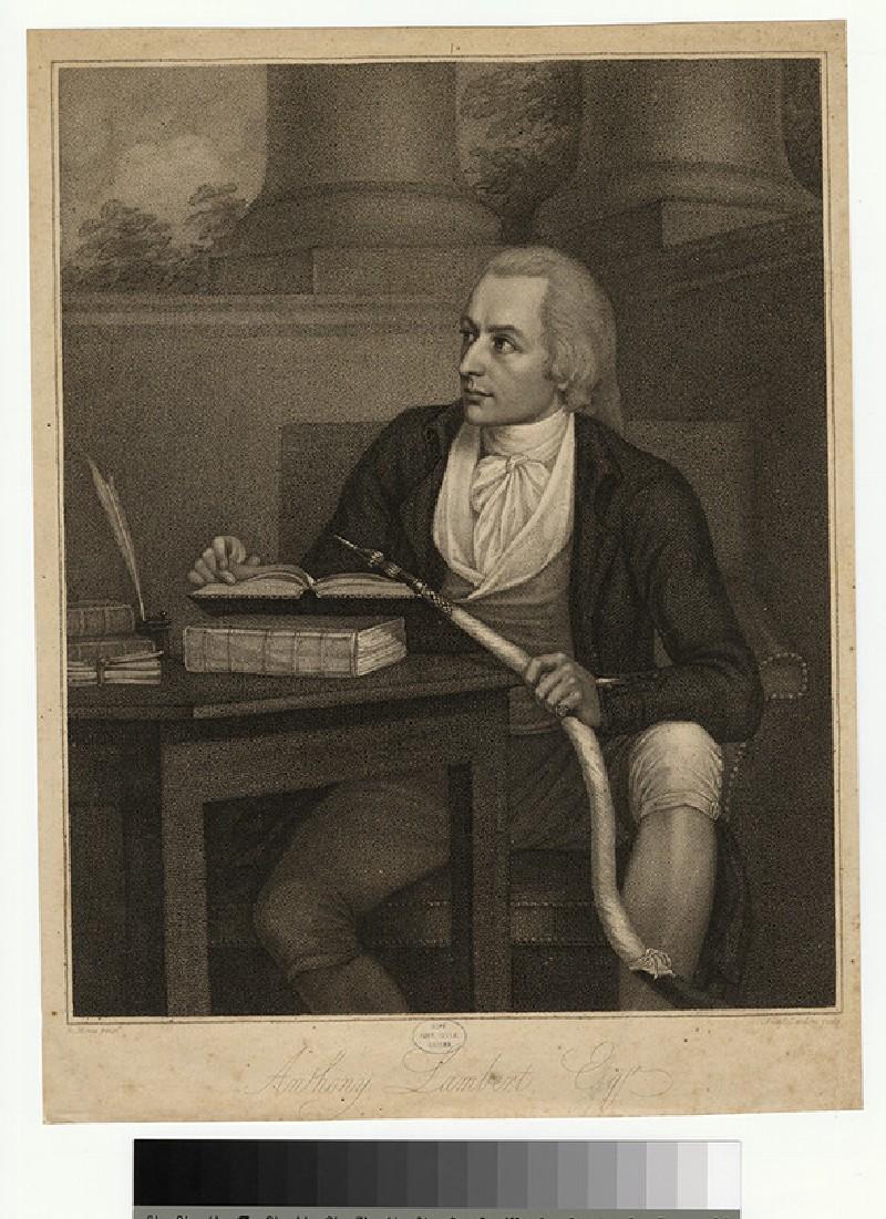 Portrait of A. Lambert