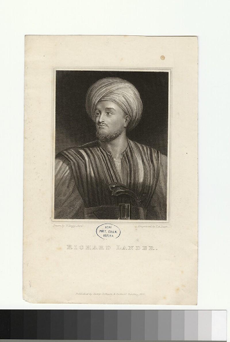 Portrait of R. Lander (WAHP27735)