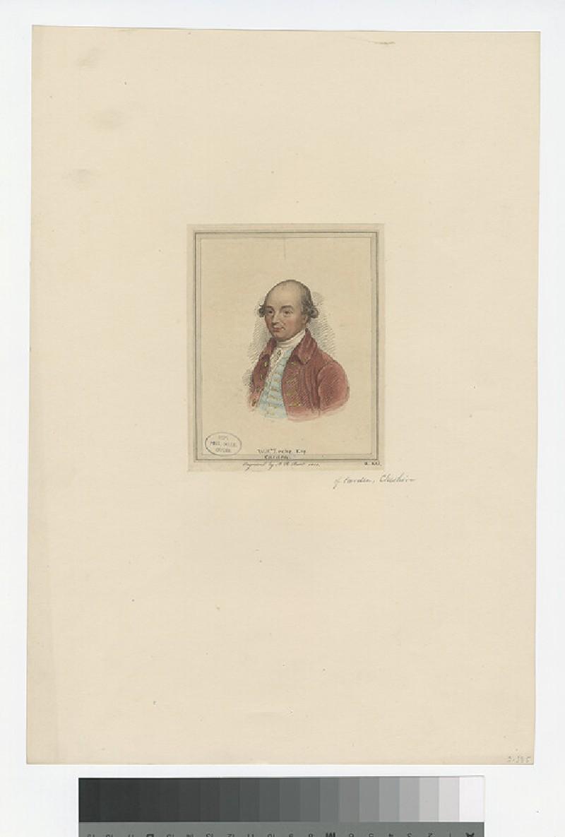 Portrait of W. Leche (WAHP27759)