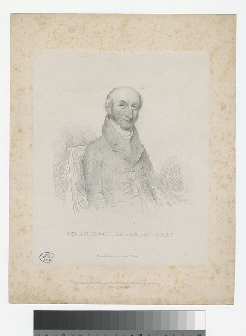 Portrait of Anthony Lechmere