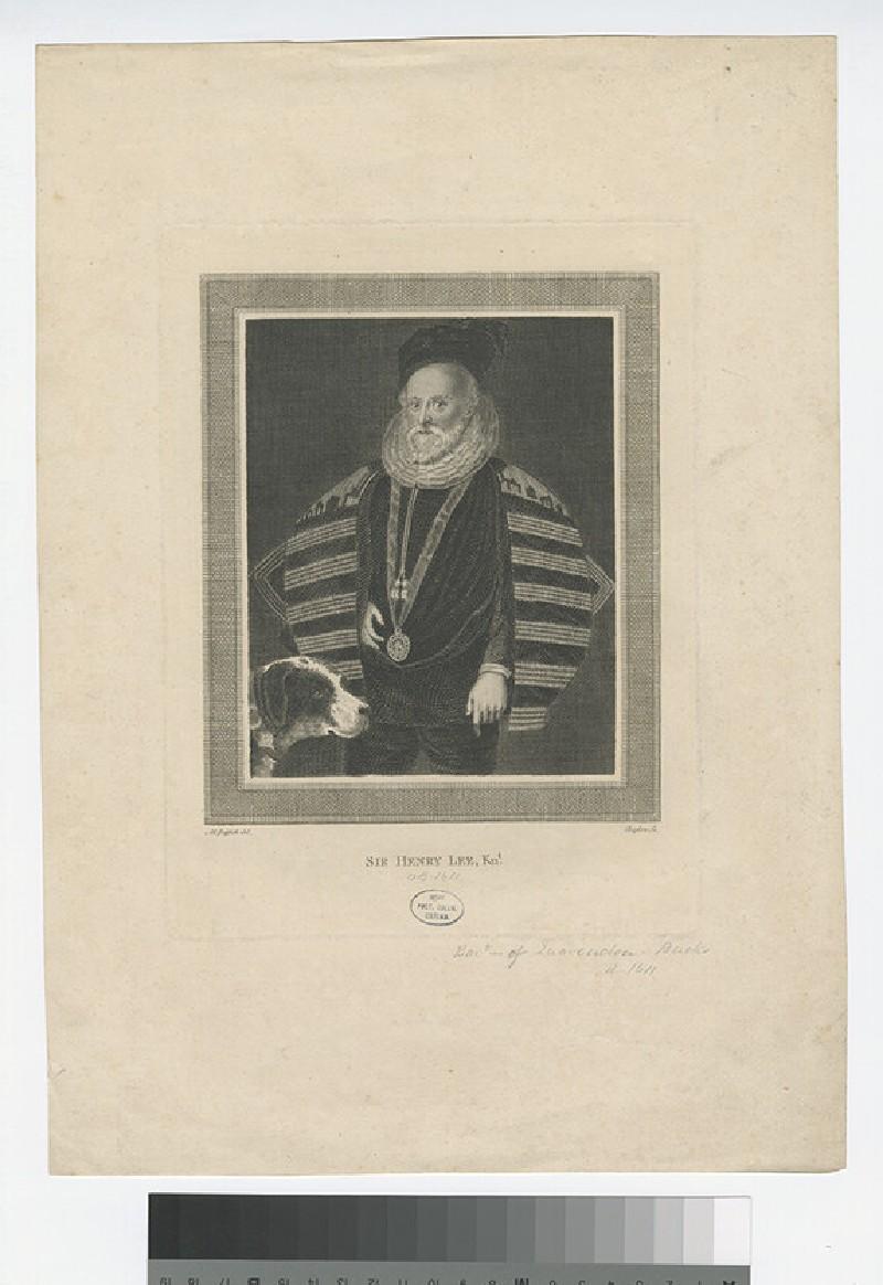 Portrait of H. Lee