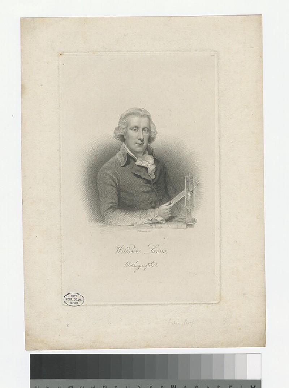 Portrait of W. Lewis