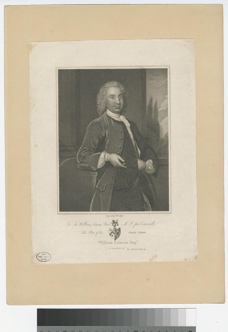 Portrait of W. Lemon