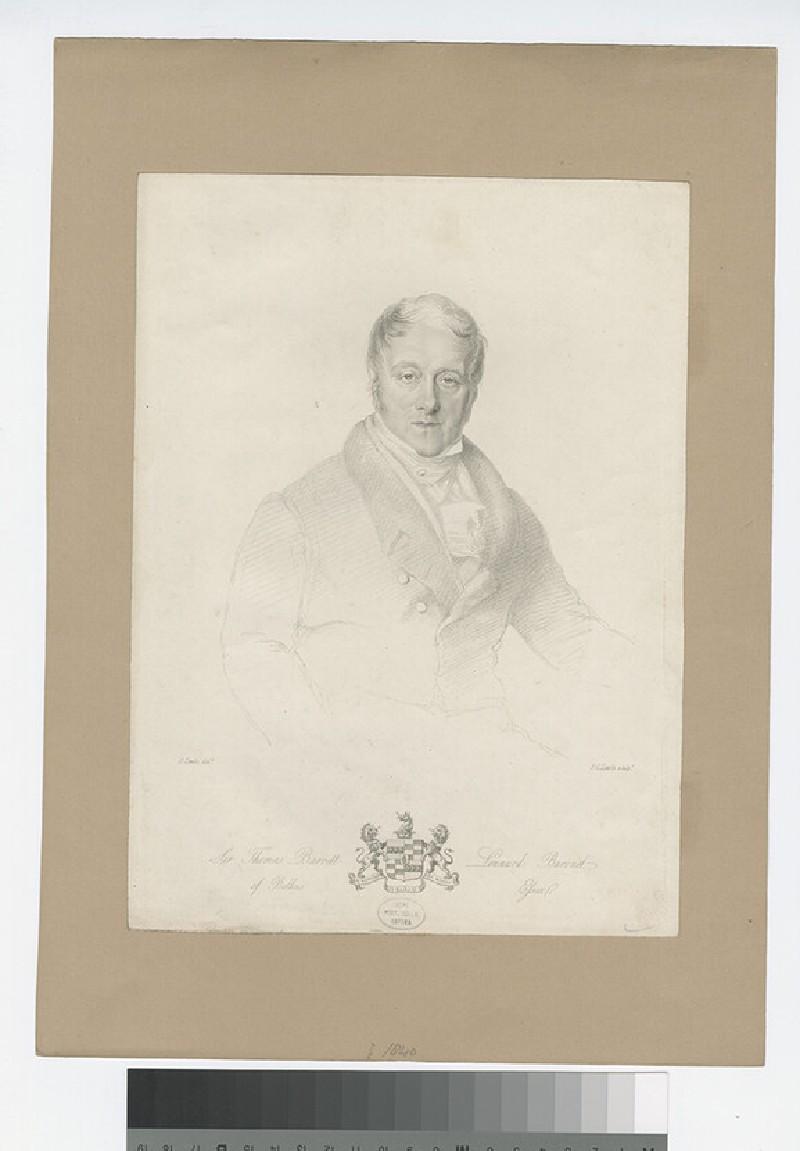 Portrait of T. Barrett-Lennard