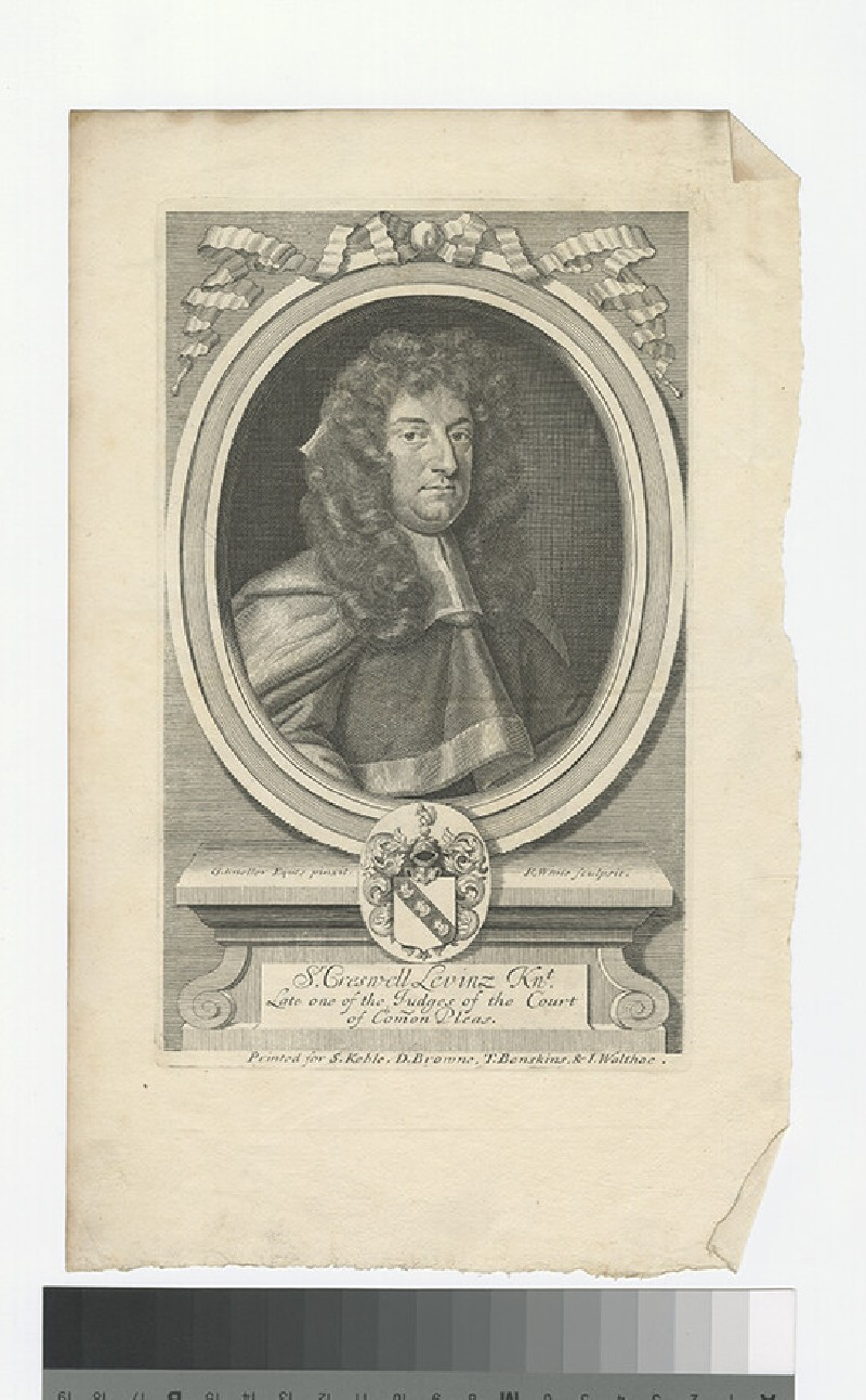 Portrait of C. Levinz (WAHP27791)