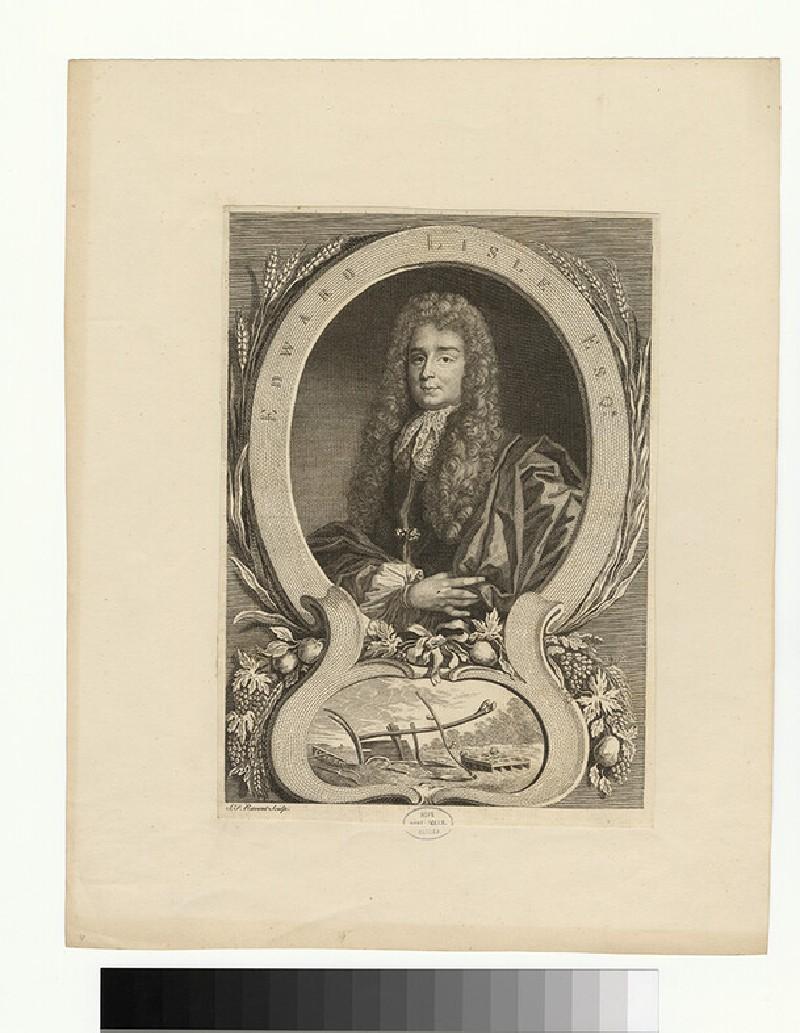 Portrait of E. Lisle