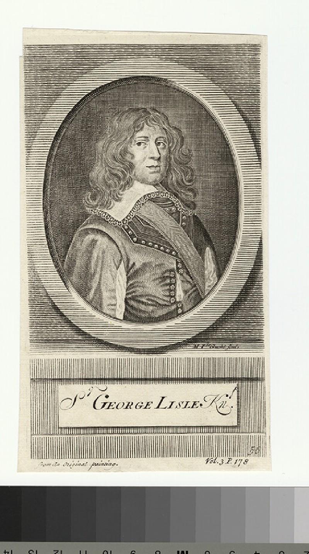 Portrait of G. Lisle (WAHP27801)