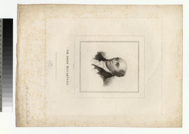 Portrait of J. Macartney (WAHP27840)