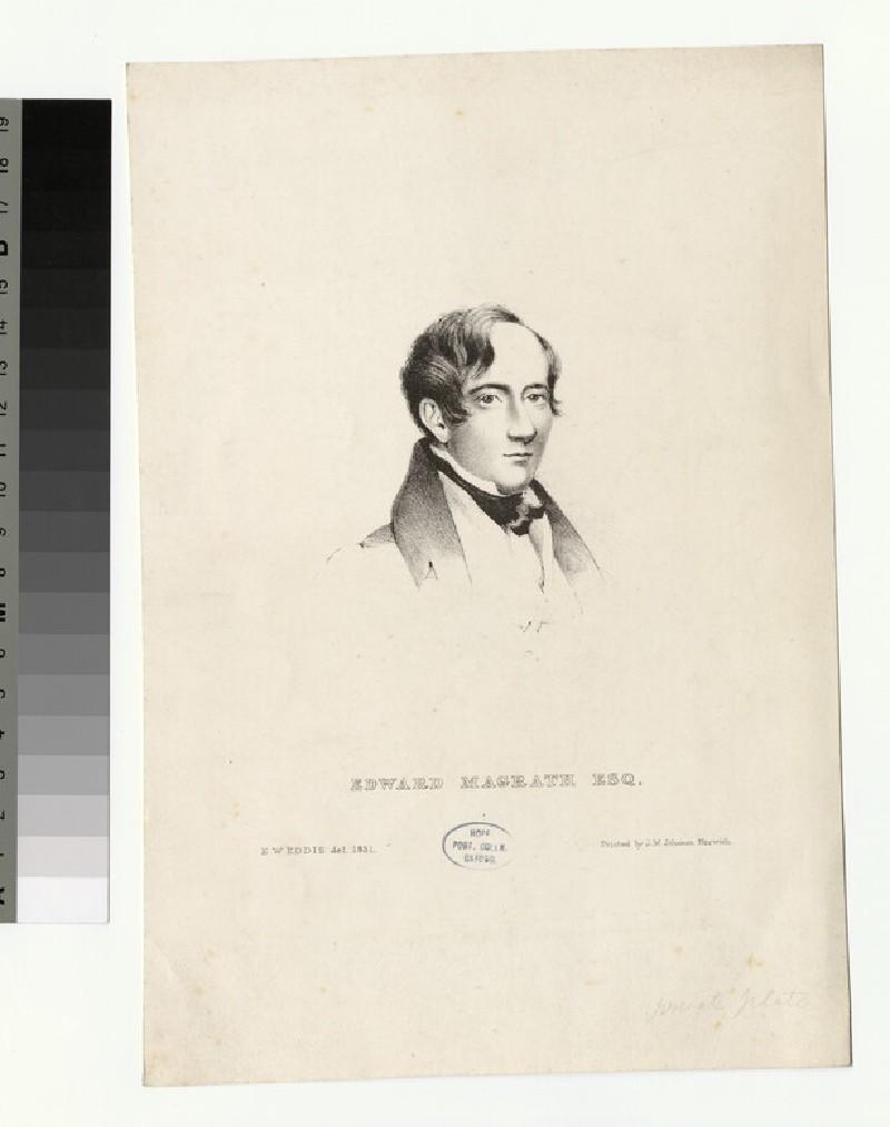 Portrait of E. Magrath (WAHP27854)